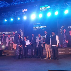 Macmillan Education India Named Best K-12 Publisher of the Year at 10th Indian Education Awards – 2020