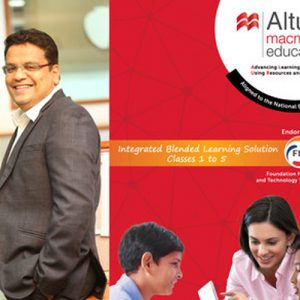 Launch of Altura – a Blended Learning Solution from Macmillan Education India